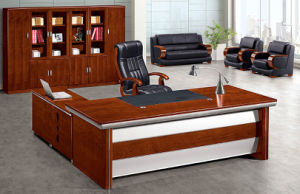 China Modern Office Furniture MFC Wooden MDF Office Table (NS-NW187) pictures & photos