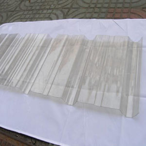 Unbreakable Material Clear Color Coated Plastic Roofing Sheet Price pictures & photos