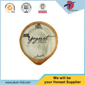 Yoghurt Plastic Cup Aluminium Foil Lids pictures & photos