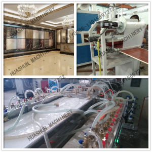 PVC Stone Decoration Line Extrusion Machine with Price pictures & photos
