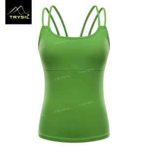 Latest Yoga Tank Tops Backless Stringer Sexy Vests pictures & photos