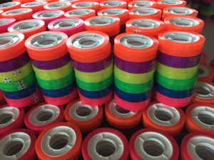 3colored Rolls Rainbow Tape with Dispenser in Blister Card pictures & photos