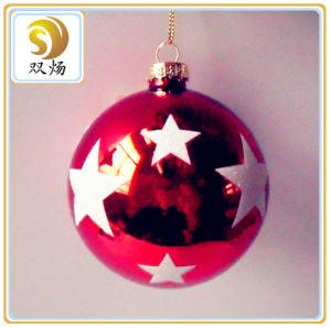 Different Color Christmas Glass Ball
