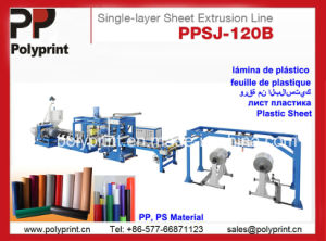 Single Layer PP Sheet Extruder (PPSJ-120B) pictures & photos