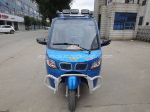 125cc 150cc Passenger Tricycle with Two Rear Seats pictures & photos