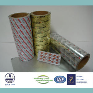 Pharmaceutical Ptp Aluminum Foil for Packaging Pills Alloy 8011 H18 pictures & photos