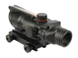 Acog Style Tactical Scope with Quick Lock Mount Combo pictures & photos