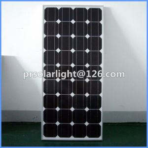125W High Efficiency Mono Renewable Energy Saving Monocrystalline Solar Panel pictures & photos