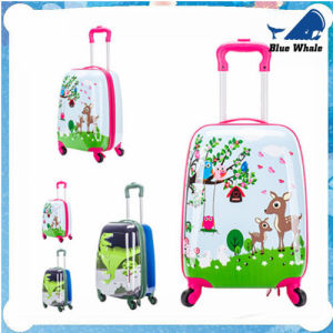 Cartoon Travel Luggage for Children ABS Travelling Trolley Bag pictures & photos
