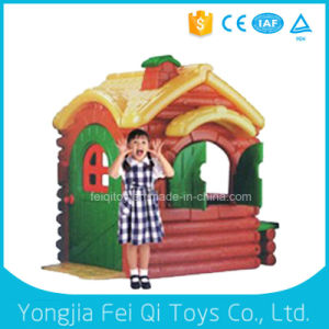 High Quality Colorful Plastic Children Playhouse, Babies Large Plastic Playhouse pictures & photos