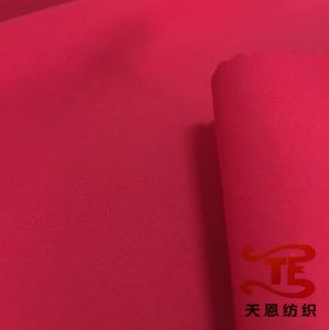 2/1 Twill Polyester Pongee Fabric Waterproof Fabric Twill Uniform Fabric pictures & photos