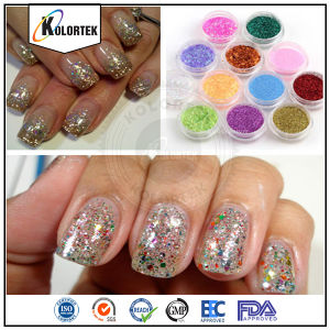 Solvent Resistant Glitters Manufacturer, Solvent Resistant Glitters pictures & photos