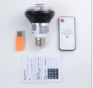 WiFi IP Camera Bulb, Panorama Bulb Camera pictures & photos