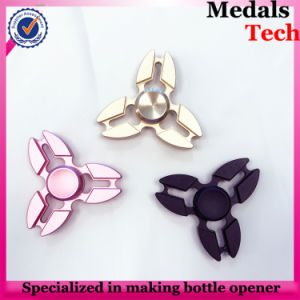 Zinc Alloy Silver Plated Hand Spinner with 608 Ceramic Ball Bearing pictures & photos