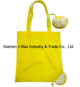 Foldable Shopper Bag, Fruits Lemon Style, Reusable, Lightweight, Grocery Bags and Handy, Gifts, Promotion, Tote Bag, Decoration & Accessories pictures & photos