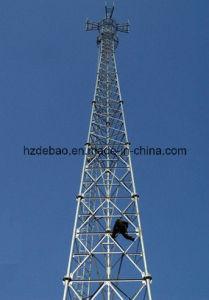 HDG Tubular Mast Communication Tower