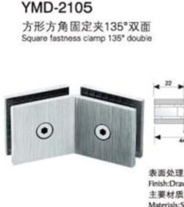 Shower Room Glass Door Stainless Steel Hardware Fittings Fastness Clamp pictures & photos