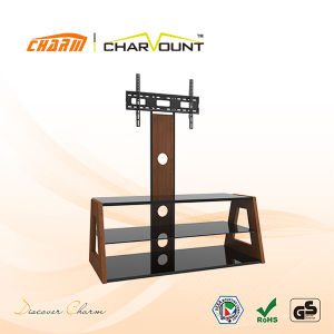 High Quality Tempered Glass & MDF Plasma TV Stand Has Bracket (CT-FTVS-CMW103) pictures & photos