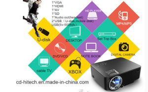 Hot Sales for New Year LCD Projectors