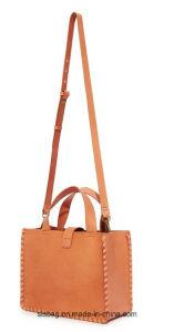 Ladies Designers Hand Woven Bag PU Woman Shoulder Bag pictures & photos