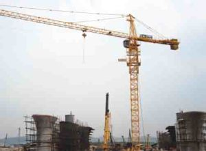 Tc-444 and Maximum Height of 200m Hydraulic Construction Tower Crane pictures & photos