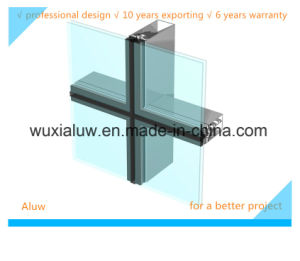 Aluminum Glass Frame Curtain Wall pictures & photos