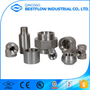 High Quality Carbon Steel Bsp Threaded Forged Pipe Fittings pictures & photos