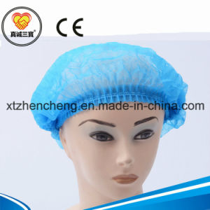 Disposable Non Woven Bouffant Cap/ Nurse Cap/Surgical Cap pictures & photos