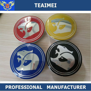 63mm Customized Colorful Hsv Car Logo Wheel Center Caps pictures & photos