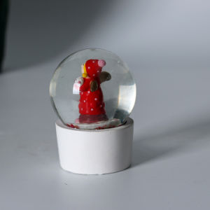Custom Resin Christmas Elf Mini Snow Globe as Promotional pictures & photos