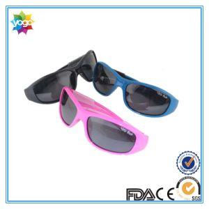 Custom Logo Polarized UV 400 Teenager Kids Children Sport Sunglasses