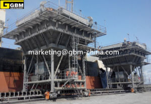 Gbm Discharge Port Cement Hopper Used in Cameroon pictures & photos