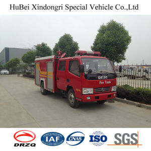 Professional Supply 3ton Dongfeng Cummins Fire Fighting Truck Price Euro4 pictures & photos