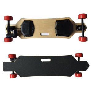 Belt Motor Remote Control 4 Wheel Electric Longboard Skateboard pictures & photos
