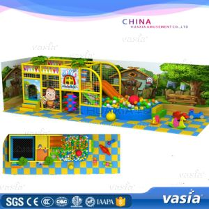 Jungle Themes Daycare Indoor Playground with Trampoline, Ball Pit pictures & photos
