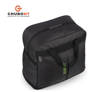 Chuont Hot Sell Black Expandable Wheeled Shopping Bag pictures & photos