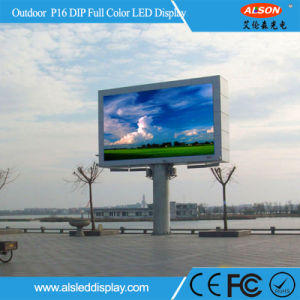 SMD P16 Outdoor Fixed Front Service LED Display Panel pictures & photos