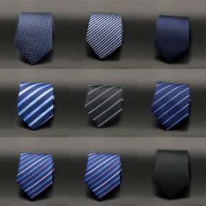 Wholesale Navy Blue Pure Silk Ties (A918)