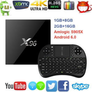 2017 Cheapest 4k Android TV Box X96 4k 1080P HD TV Box pictures & photos