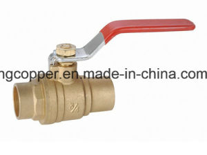 Forged Brass Ball Valve with Solder End pictures & photos