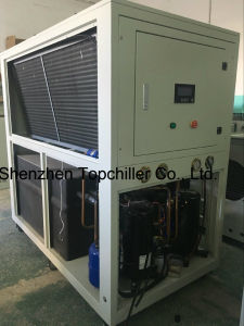 10kw-18kw (-10C) Air Cooled Glycol Water Cooled Chiller for Milk Cooling Process pictures & photos