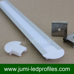 Flat Slim LED Aluminium Profile pictures & photos