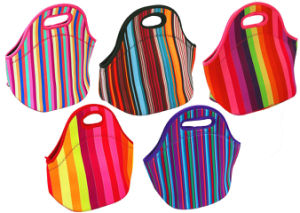 Promotional Reusable Neoprene Insulated Cooler Lunch Bag pictures & photos