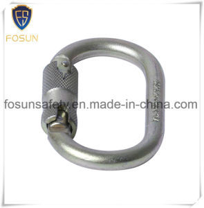 Hot Sales Customized Logo Carabiner of Zinc Plating pictures & photos