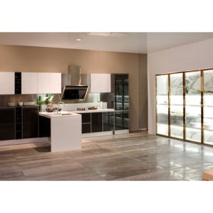 Home Design Kitchen Furniture Black and White Kitchen Cabinet pictures & photos