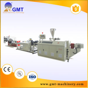 PE PP PVC Single-Wall Corrugated Pipe Plastic Machinery Extrusion Line pictures & photos