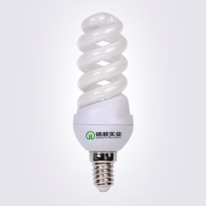 Small Full Spiral 9-15W Energy Saving Lamps 2700k-6500k pictures & photos