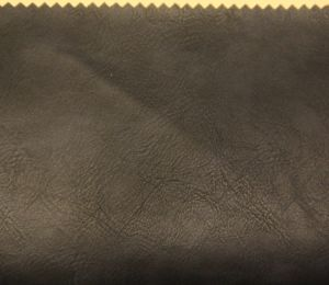 Fashionable Style Yangbuck Faux Synthetic Leather for Shoes, Bags, Garment, Decoration (HS-Y74) pictures & photos