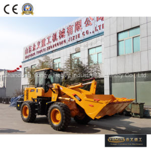 Ce Approved 2 Ton Front End Loader Wheel Loader Mini Wheel Loader