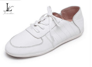 Confortable Low Top Plain Women′s Sneaker (CAS-035) pictures & photos